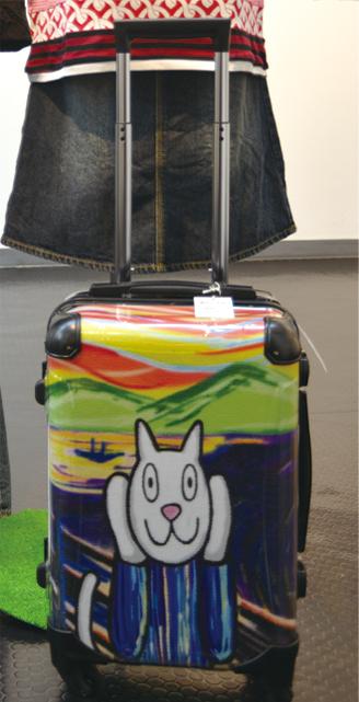 スーツケース_アート