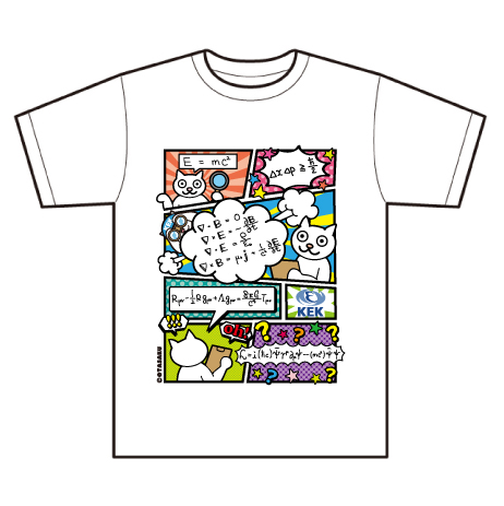 Tシャツ KEK 数式コミック