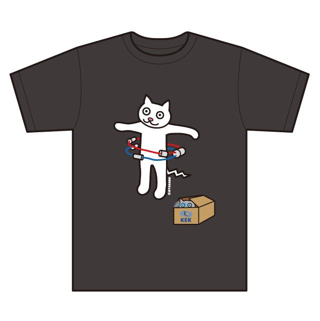 Tシャツ KEK 加速器リング