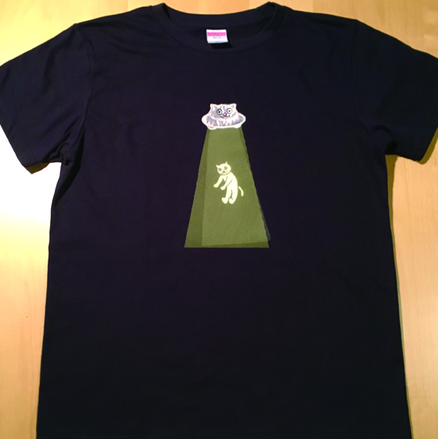 Tシャツ アブダクション