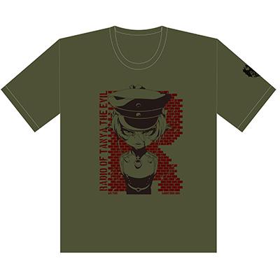音T「幼女戦記 ラジオの悪魔」Tシャツ