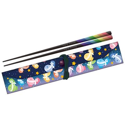 「松井恵理子のにじらじっ!」 にじらじっ!オリジナル箸(箸袋付き)