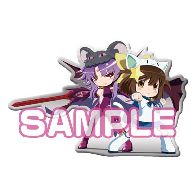 『えとたま』メタルチャーム にゃ~たん&チュウたん(浄化前Ver.)