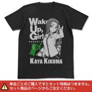 【音mart限定特典付】音T「Wake Up, Girls!のがんばっぺレディオ!」Tシャツ(音mart版) 菊間夏夜