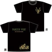 音T「ガールズ&パンツァーRADIO ウサギさんチーム、訓練着!」Tシャツ