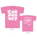 イヤホンズTシャツ ピンク