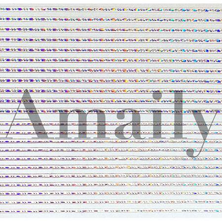 Amaily(アメイリー)ネイルシール  飾りライン (OS)【No.3-15】