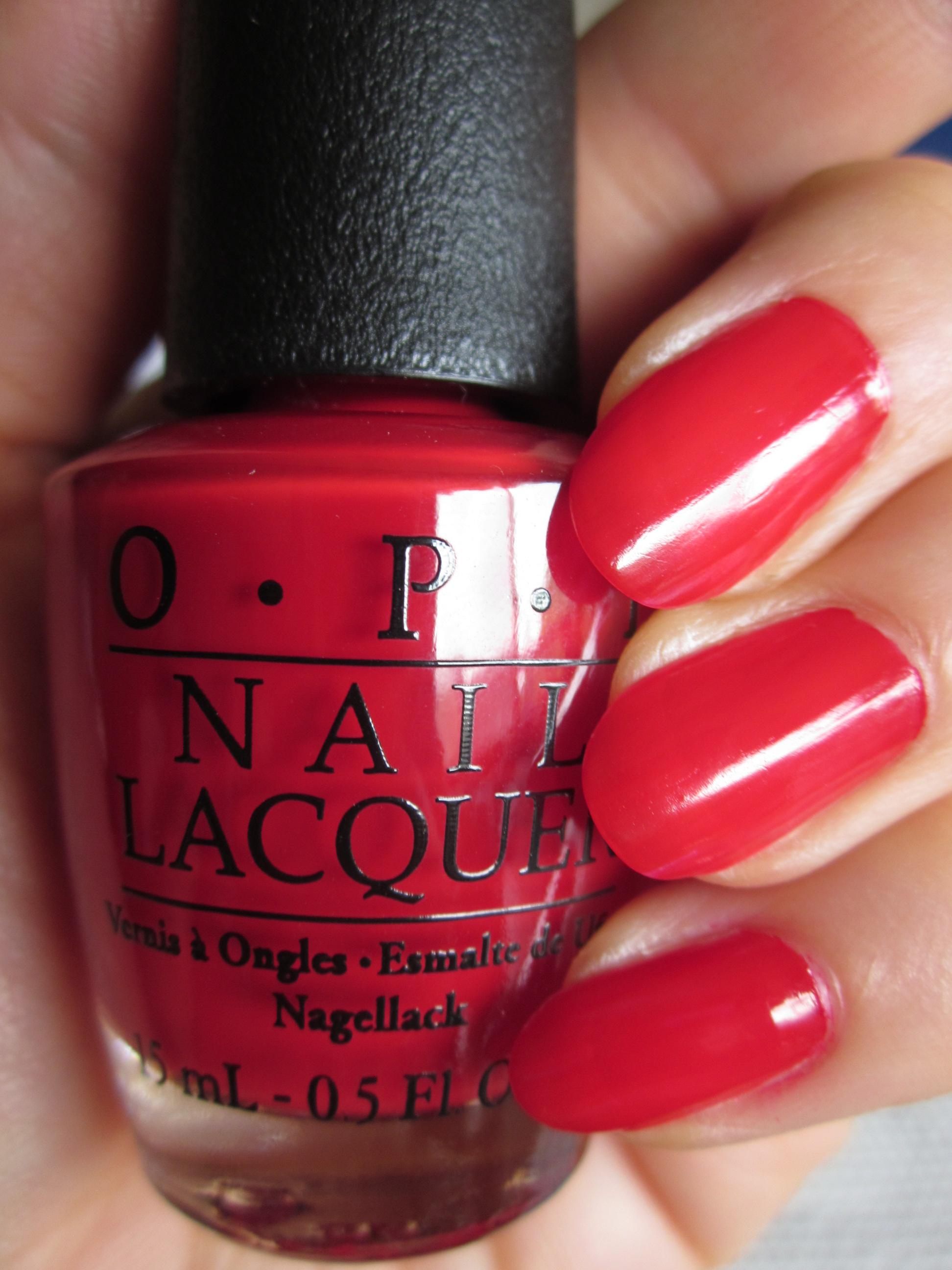 OPI(オーピーアイ) NL-N25 Big Apple Red(ビッグ アップル レッド)