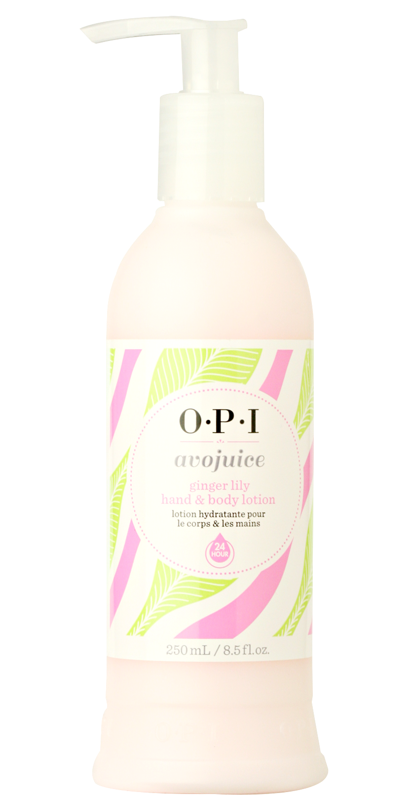 【レターパックのみ送料無料】OPI(オーピーアイ) アボジュース ハンド&ボディローション ジンジャーリリー250ml