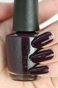 OPI(オーピーアイ) HR-J06 Wanna Wrap?(Creme)(ワナ ラップ?) ネイル マニキュア ネイルカラー ネイルポリッシュ セルフネイル 速乾 パープル 紫 マット