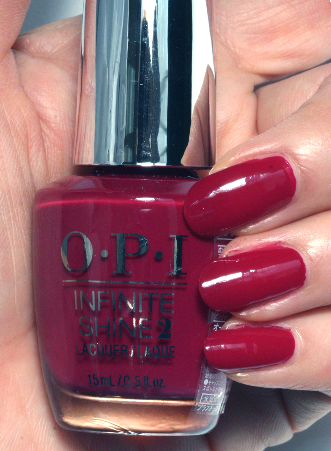 OPI INFINITE SHINE(インフィニット シャイン) IS-L60 Berry On Forever(ベリー オン フォーエバー)