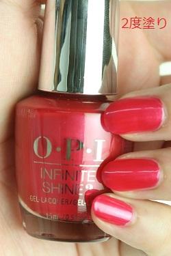 【35%OFF】OPI INFINITE SHINE(インフィニット シャイン) IS-LV12 Cha-Ching Cherry(Creme)(チェーリング チェリー)