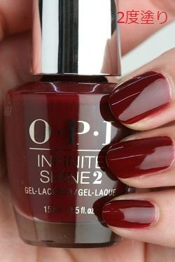 OPI INFINITE SHINE(インフィニット シャイン) IS-LW52 Got the Blues for Red (Creme)(ゴット ザ ブルース フォー レッド)