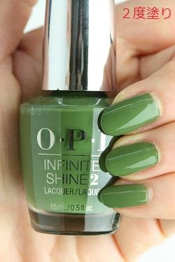 OPI INFINITE SHINE(インフィニット シャイン) IS-L64 Olive for Green(オリーブ フォー グリーン)