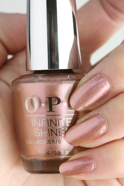 OPI INFINITE SHINE(インフィニット シャイン) IS-LL15 Made It To the Seventh Hill!(Pearl)(メイド イット トゥ ザ セブンス ヒル) opi ネイルカラー ネイルポリッシュ セルフネイル ピンク ラメ 人気色