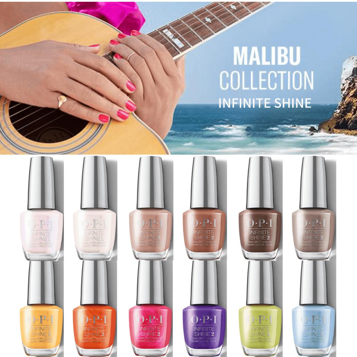 OPI INFINITE SHINE インフィニット シャイン Malibu Collection by OPI オーピーアイ マリブコレクション 15ml ネイルカラー マニキュア 40周年記念 第二弾