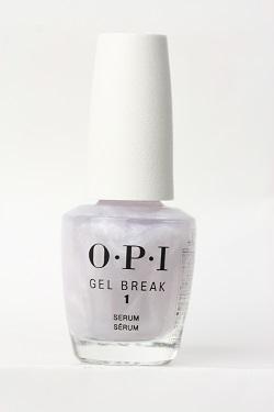 OPI  ジェルブレイク セラム ベースコート NTR01 ジェルで傷んだ 割れ 薄い爪 二枚爪 ダメージ補修 美容液 乾燥 うるおい