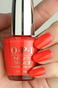 OPI INFINITE SHINE(インフィニット シャイン) IS-LL22 A Red-vival City(Creme)(ア レッドバイバル シティ)