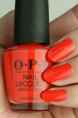 OPI(オーピーアイ) NL-L22 A Red-vival City(Creme)(ア レッドバイバル シティ)