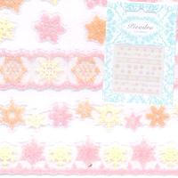 【pieadra98252】ピアドラ/スノーフレイクパステルオレンジ(廃盤の為、在庫限り)