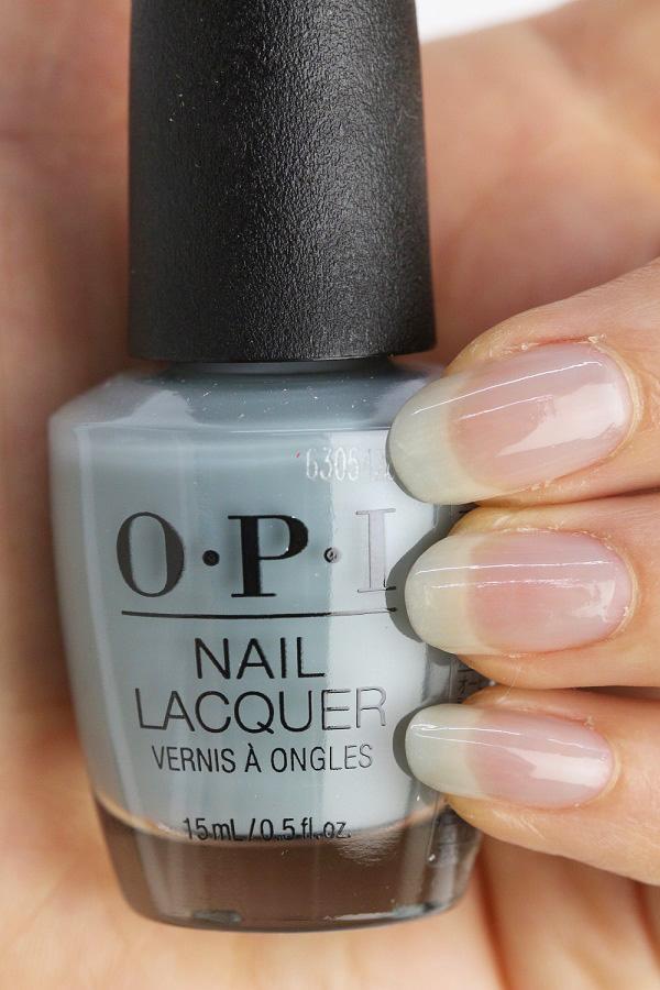 OPI(オーピーアイ)NL SH6 Ring Bareer(Sheer)(リング べアラー) opi ネイル ネイルカラー ネイルポリッシュ マニキュア ブルー 春ネイル