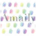 Amaily(アメイリー) ネイルシール 水彩 【No.5-28】 101400