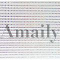 Amaily(アメイリー)ネイルシール  飾りライン (OS)【No.8-12】 15714