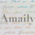 Amaily(アメイリー)ネイルシール  レター(OS)【No.8-15】