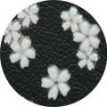 【DecoNail N-226W×W】ネイルシール N−226W×W マメザクラ ホワイトホワイト
