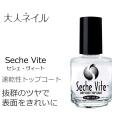Seche セシィ・ヴィート トップコート 抜群のツヤを放つ速乾性トップコート 検定 内容量14ml