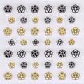 【Pieadra】ピアドラ/カメリア ブラック&ゴールド