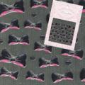 shareydva(シャレドワ) ネイルシール ジェルリボンブラック 74676