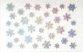 Amaily(アメイリー)ネイルシール  雪の結晶(OS)【No.8-9】