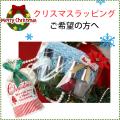 クリスマスギフトに!ギフトラッピング クリスマスプレゼント用