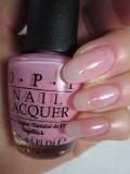 OPI(オーピーアイ) NL-H38 THINK IN PINK(アイシンクインピンク) マニキュア ネイルカラー ネイルポリッシュ セルフネイル 速乾 ピンク シアー 透明 ウエディング