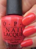OPI(オーピーアイ) NL-H70 Aloha from OPI(アロハ フロム オーピーアイ) マニキュア ネイルカラー ネイルポリッシュ セルフネイル 速乾 オレンジ レッド 赤 クリーミィコーラル ハワイ マット