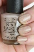 OPI(オーピーアイ) NL-F89 Coconuts Over OPI(Creme)(ココナッツ オーバー オーピーアイ)  マニキュア ネイルカラー ネイルポリッシュ セルフネイル 速乾 ベージュヌードトープ 薄茶色 フィジー マット グレーベージュ
