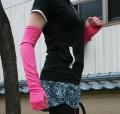 期間限定送料無料!【15%OFF】Reidroc 紫外線対策アームカバー(ピンク)
