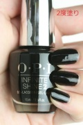 OPI INFINITE SHINE(インフィニット シャイン) IS-LT02 Black Onyx(Creme)(ブラック オニキス)