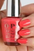 OPI INFINITE SHINE(インフィニット シャイン) IS-LT89 TempuratureIsRising(Creme)(テンプラチャーイズライジング!) opi マニキュア ネイルカラー ネイルポリッシュ セルフネイル 速乾 ビビットオレンジ ペディキュア 春ネイル