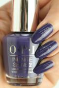 OPI INFINITE SHINE(インフィニット シャイン) IS-LU21 Nice Setof Pipes(Creme)(ナイス セット オブ パイプス) opi マニキュア ネイルカラー ネイルポリッシュ セルフネイル 速乾 紫 パープル 秋カラー 冬カラー スモーキー