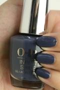 OPI INFINITE SHINE(インフィニット シャイン) IS-LI59 Less is Norse(Creme)(レス イズ ノース) opi ネイル マニキュア ブルー青グレー灰色ブルーグレーマット