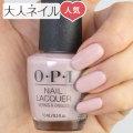 OPI(オーピーアイ) NL-G20 My Very First Knockwurst(マイ・ベリー・ファースト・クナックヴルスト) マニキュア ネイルカラー ネイルポリッシュ セルフネイル 速乾 ピンク マット 大人 可愛い