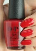 OPI(オーピーアイ) NL-G51 Tell Me About It Stud(Creme)(テル ミー アバウト イット スタッド) マニキュア ネイルカラー ネイルポリッシュ セルフネイル 速乾 レッド 真っ赤 明るいレッド ホワイトデー