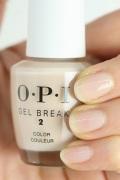 OPI ジェルブレイク ネイルラッカー ベアリー ベージュ NTR05 半透明 ムラになりにくい 凹凸 美爪