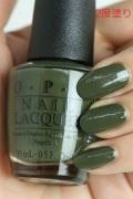 OPI(オーピーアイ)  NL-W55 Suzi-The First Lady of Nails(Creme) (スージー ザ ファーストレディ オブ ネイルズ) opi ネイル マニキュアopi マニキュア カラー ポリッシュ セルフネイル 速乾 グリーン 緑 オリーブ マット