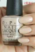 OPI(オーピーアイ)  NL-W57 Pale to the Chief(Creme) (ペール トゥ ザ チーフ)