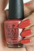 OPI(オーピーアイ)  NL-W58 Yank My Doodle(Creme) (ヤンク マイ ドゥードル) opi マニキュア ネイルカラー ネイルポリッシュ セルフネイル 速乾 オレンジ ピンク マット コッパー
