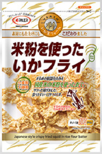 米粉を使ったいかフライ(内容量:62g)