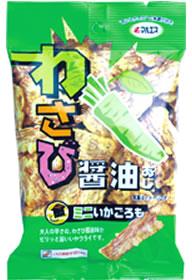 ミニいかごろも(わさび醤油味)(内容量:25g×5袋入)